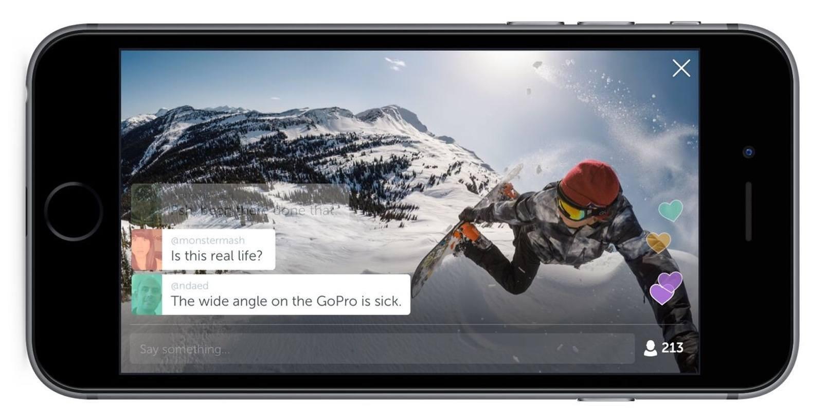 Periscope canlı yayınını GoPro aksiyon kamerasıyla yapabilirsiniz